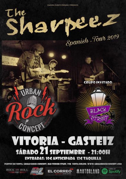 Concierto de The Sharpeez + Black Street en Vitoria-Gasteiz