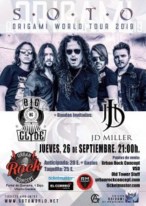 Concierto de Soto + Big Clyde + JD Miller en Vitoria