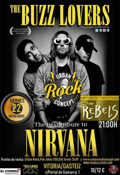 Concierto de The Buzz Lovers + The Rebels en Vitoria-Gasteiz