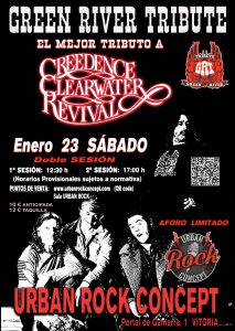 Green River -Tributo a Credence Clearwater Revival - en Vitoria-Gasteiz